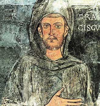 Reseña biográfica de san Francisco de Asís (1181-1226)